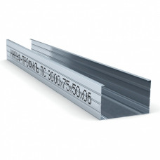 Профиль для гипсокартона KNAUF CW 75 толщ 0.6мм, 3м