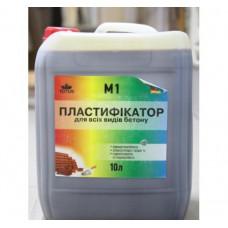 Пластификатор для всех видов бетона  TOTUS M1 ( 10 л )
