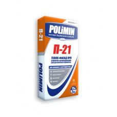 Клей для приклеивания и армирования минеральной ваты Полимин П-21 (25кг)