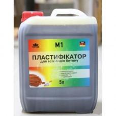 Пластификатор для всех видов бетона  TOTUS M1 ( 5 л )