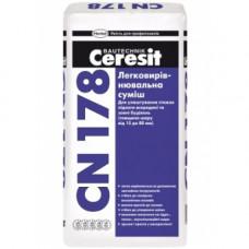 Легковыравнивающаяся смесь Ceresit CN-178 (25кг)