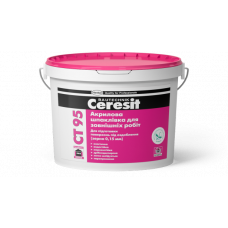 Шпаклевка акриловая Ceresit CT-95 (зерно 0,15мм) (10л)