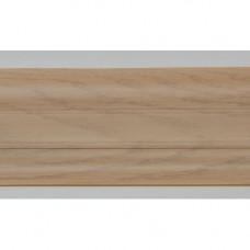 Плинтус пластиковый Line Plast L003 (дуб беленый) (2,5м)