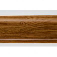 Плинтус пластиковый Line Plast L019 (дуб дортфорд) (2,5м)