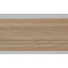 Плинтус пластиковый Line Plast L026 (дуб мокко) (2,5м)