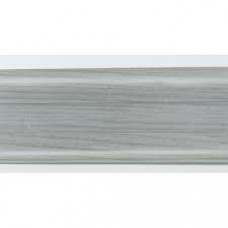 Плинтус пластиковый Line Plast L061 (дуб серый) (2,5м)