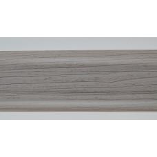 Плинтус пластиковый Line Plast L004 (ясень) (2,5м)