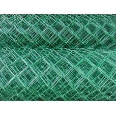 Сетка рабица с полимерным покрытием ПВХ 50*50мм (1,5*10м)