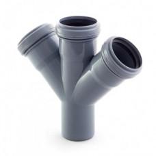 Крестовина канализационная Европласт 50*50*50/45 (внутренняя)