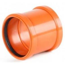 Муфта канализационная М-Пласт 110 (наружная)