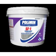 Силикон-модифицированная фасадная краска Полимин SF-1 (14кг)