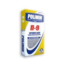 Клей для керамической плитки (эконом) Полимин П-9 (25кг)