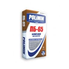 Смесь для кладки газоблока PB-65 Полимин WHITE (25кг)