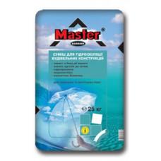 Гидроизоляция MASTER Barrier (Барьер) серая (25 кг)