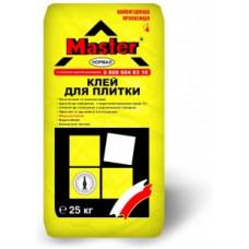 Клей для плитки MASTER NORMAL (25 кг)