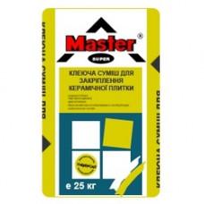 Клей для плитки MASTER STANDART (25 кг)