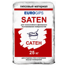Шпатлевка EUROgips SATEN (финиш) 25кг