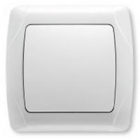 Выключатель 1-клавишный белый Viko KARMEN
