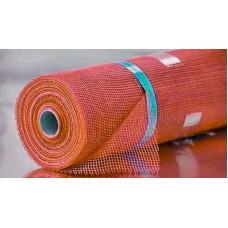 Сетка штукатурная BUDOWA оранжевая 5*5мм (50м.кв 160гр/м2)