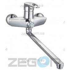 Смеситель Zegor NKE ванна Ф40 - 180 EVRO(2078, 2-х поз)