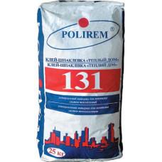 Универсальный клей для систем теплоизоляции ПОЛИРЕМ 131W (25кг)